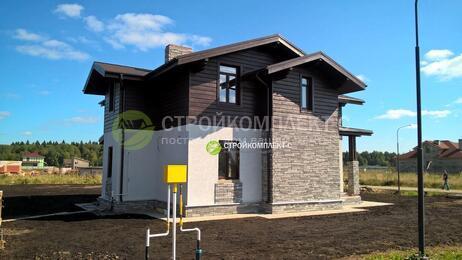 Строительство дома из профилированного бруса КП Зосимово